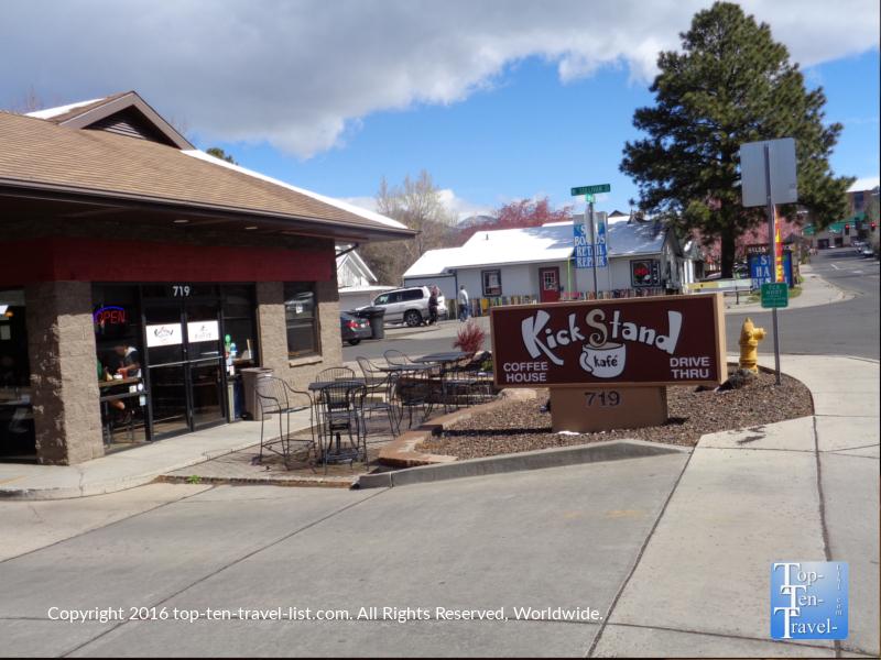 Kickstand Kafe in downtown Flagstaff AZ