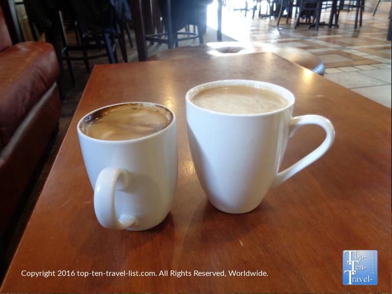 Tasty espresso drinks at Kickstand Kafe in Flagstaff AZ