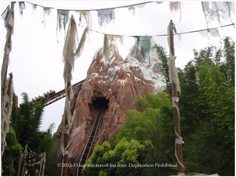 Expedition Everest is one of the most fun & scenic rides in all of Disney!