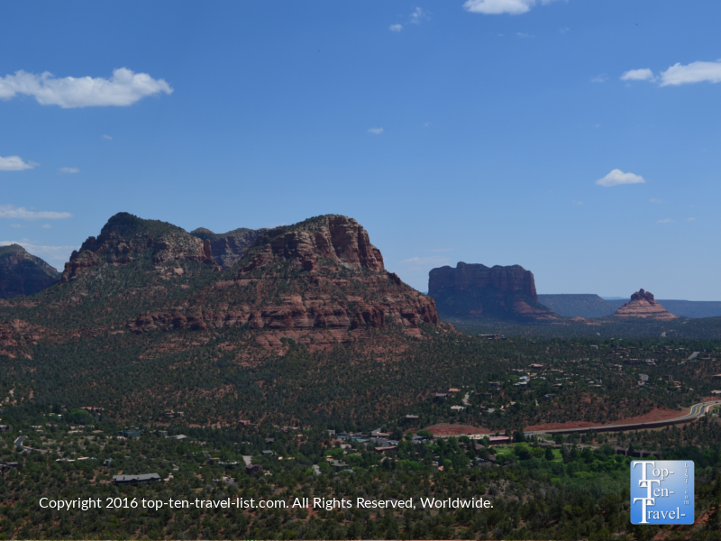 Nice views from the Sedona Airport Mesa trail