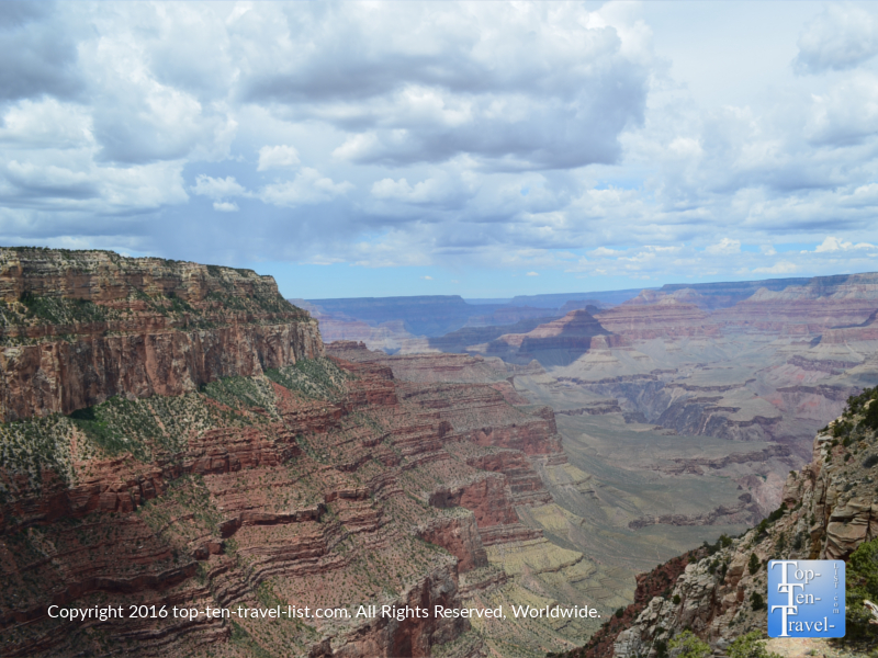 Stunning views along the Kalibab trail at the Grand Canyon