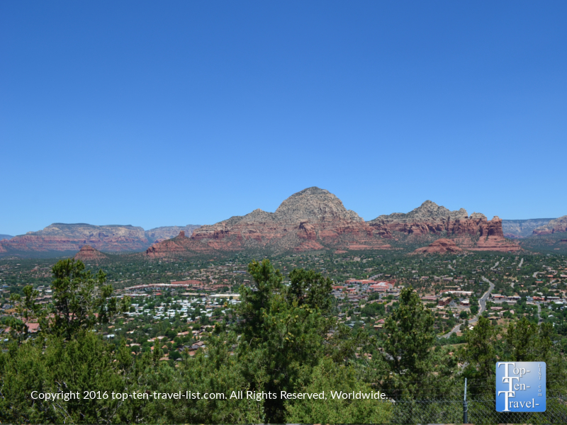 Stunning views from the Sedona Airport Mesa Overlook