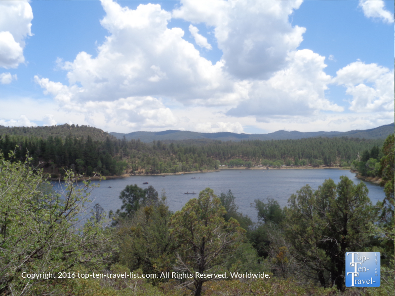 Beautiful views of Lynx Lake in Prescott AZ