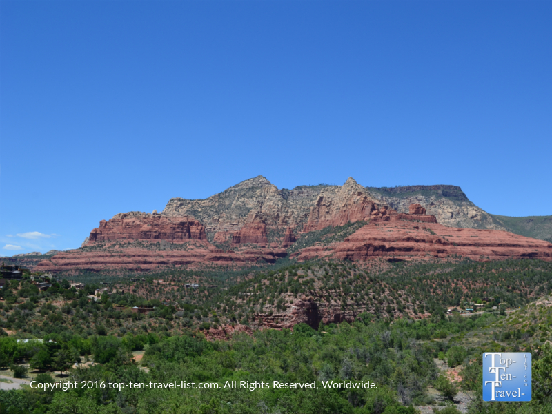 Gorgeous red rock views from the Huckaby Trail in Sedona AZ