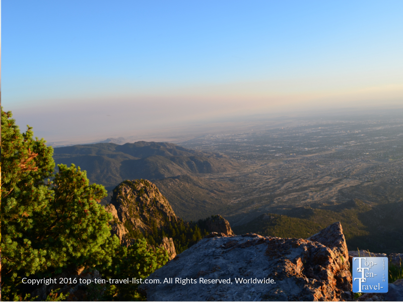 Gorgeous views from Sandia Peak tramway ride in Albuquerque NM