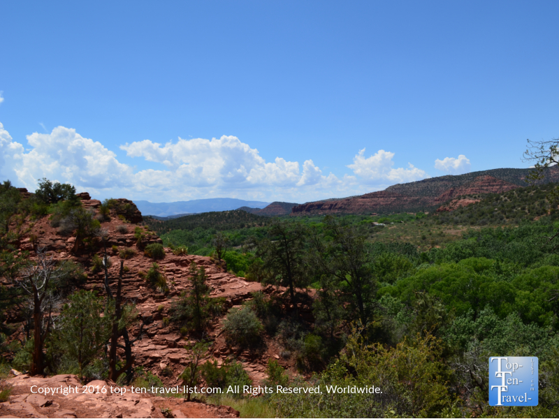 Great views along the Templeton trrail in Sedona