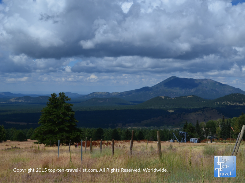 Great views from the Aspen Nature Loop in Flagstaff Arizona