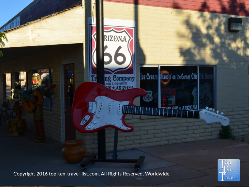 Historic Route 66 in Winslow Arizona