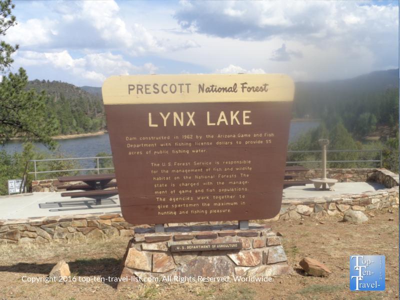 Lynx Lake in Prescott AZ