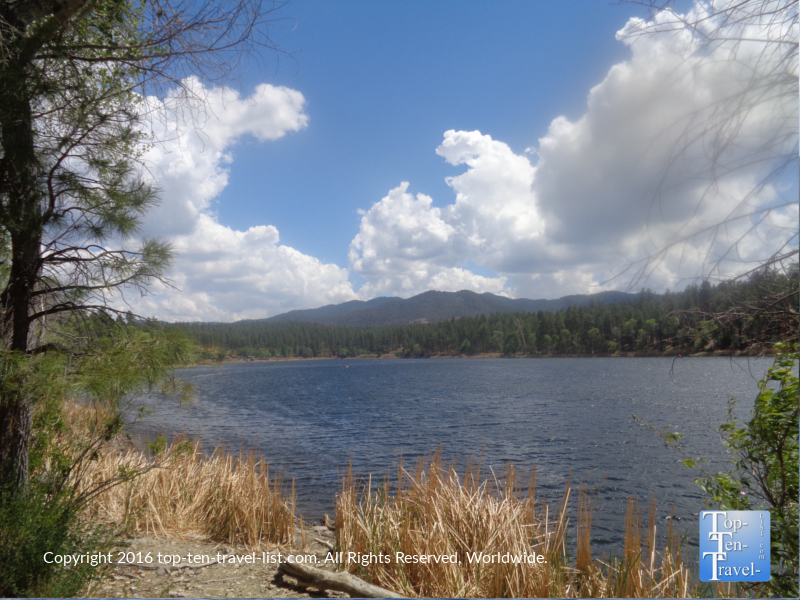 Scenic views from the Prescott AZ Lakeshore Trail 3