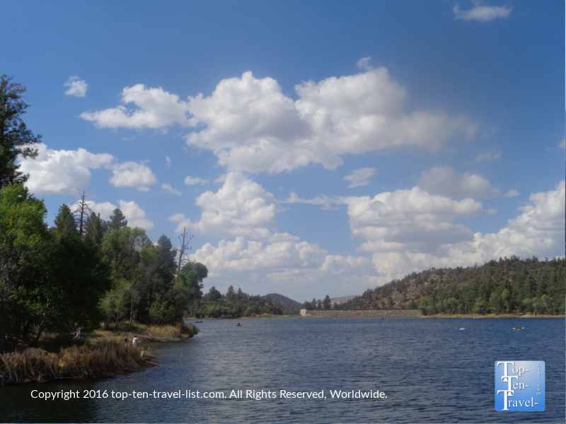 Scenic views from the Prescott AZ Lakeshore Trail 4