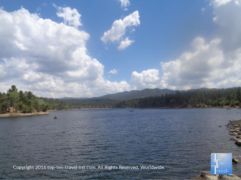Scenic views from the Prescott AZ Lakeshore Trail