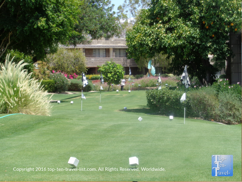 Golf course at The Arizona Bitmore