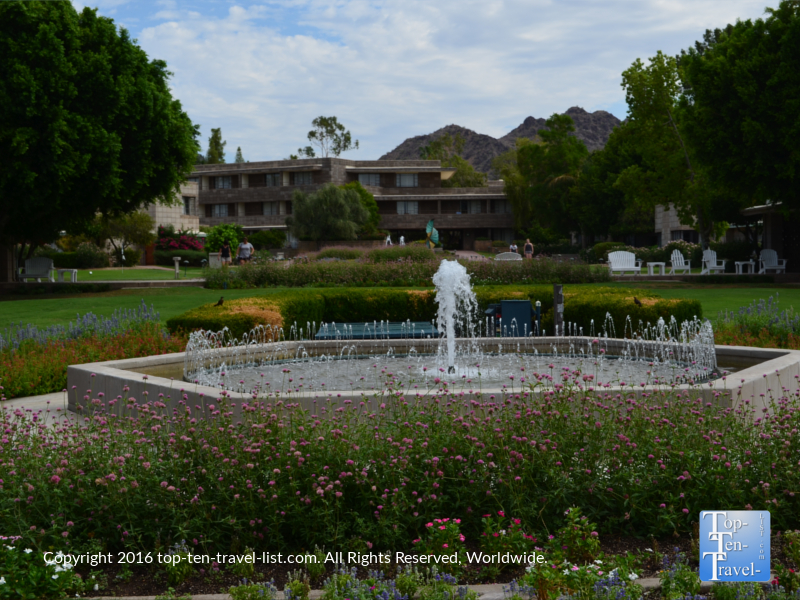Gorgeous landscaping at the Arizona Bitmore in PHoenix