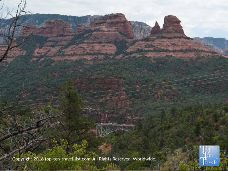 Great overview from the Jim Thompson trail in Sedona AZ