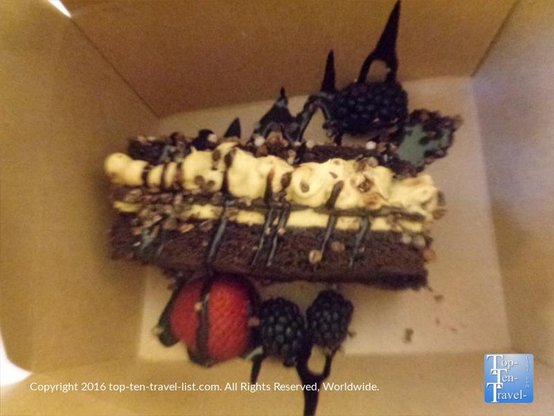 Kahlua Cream Cake at The Arizona Bitmore