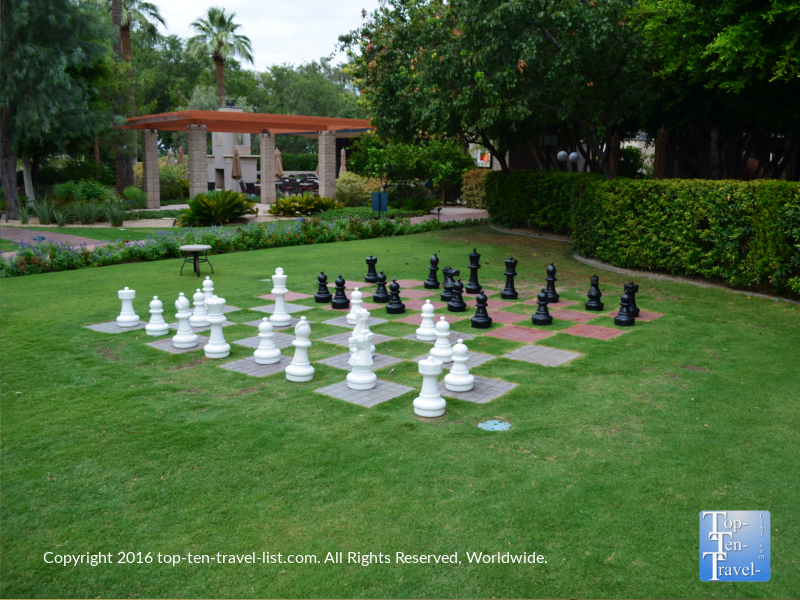 Lawn chess at the Arizona Bitmore in Phoenix