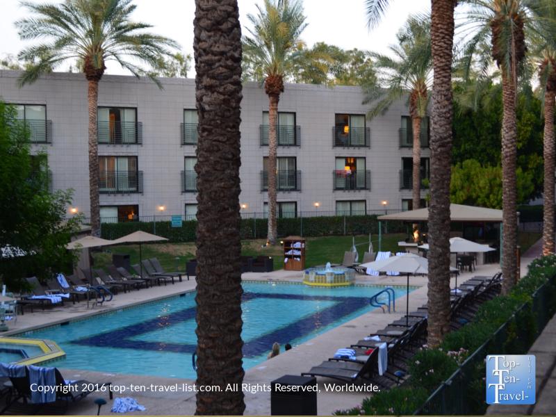 Ocatilla pool at the Arizona Bitmore in Phoenix AZ