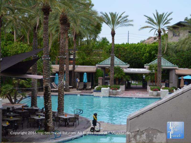 Paradise Pool at the Arizona Bitmore Resort in Phoenix AZ