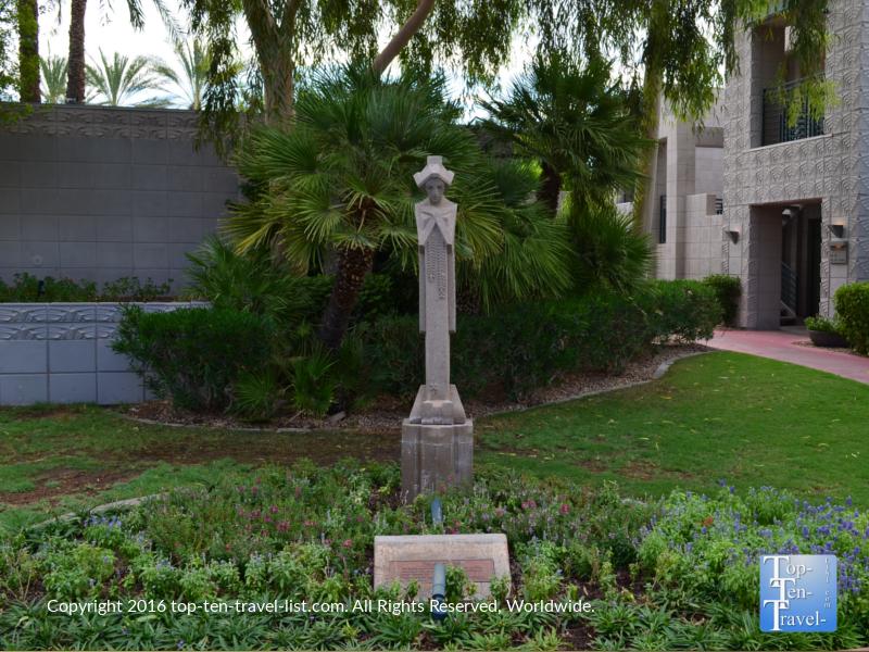 Sculpture at the Arizona Bitmore in Phoenix