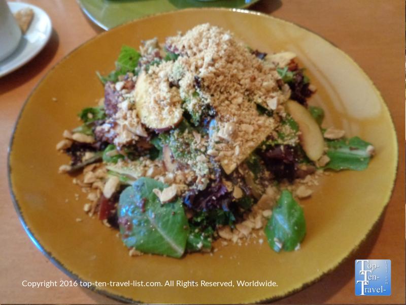 Stone fruit quinoa salad at Frank & Alberts at The Arizona Bitmore