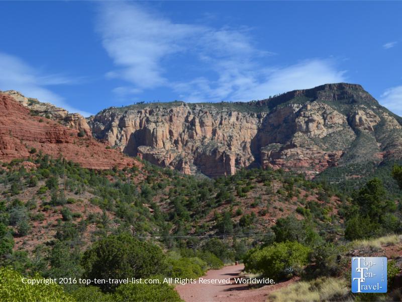 Stunning views along Sedona's Wilson Canyon trail