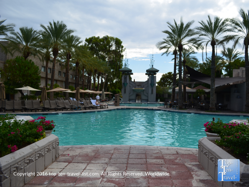 The beautiful Paradise Pool at The Arizona Bitmore