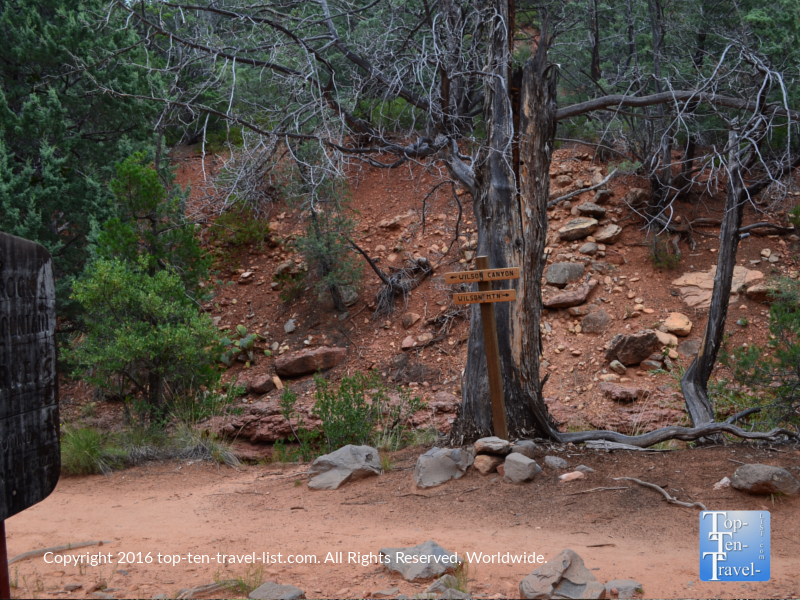 To Wilson Canyon trail from the Jim Thompson trail in Sedona AZ