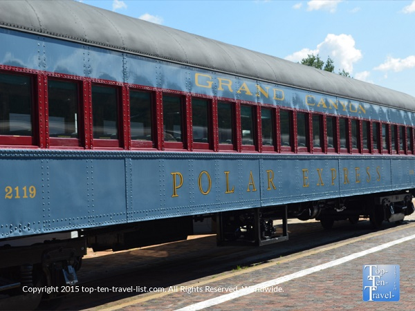 "In 2001, The Grand Canyon Railway began to offer seasonal rides based on the holiday classic ""The Polar Express."""