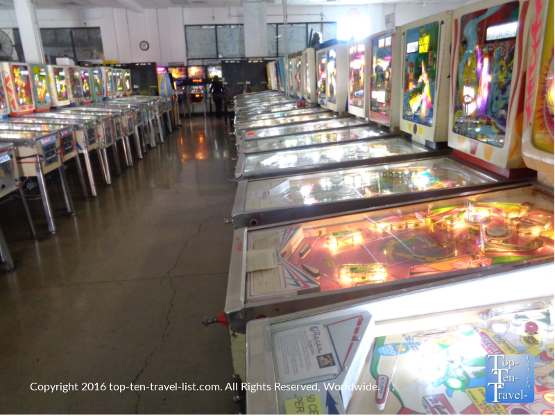 The Pinball Hall of Fame in Las Vegas, Nevada