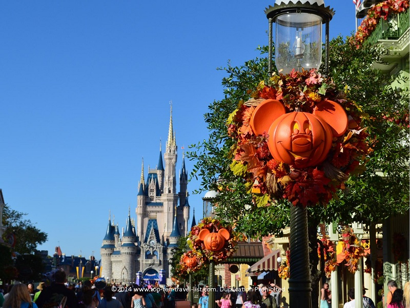 Halloween at Walt Disney World Resort in Orlando, Florida