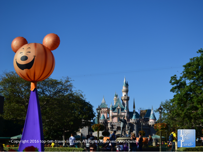 Disneyland at Halloween - Mickey's Not So Scary Halloween Party