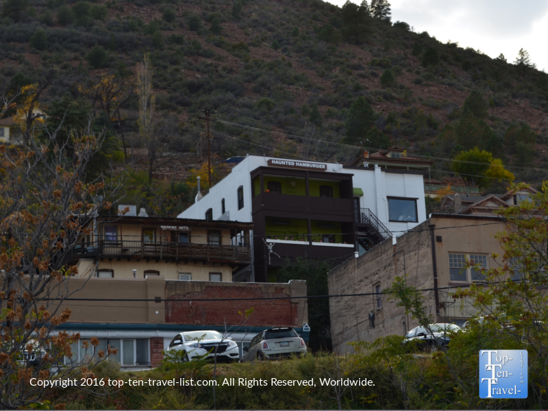 The Haunted Hamburger in Jerome, Arizona