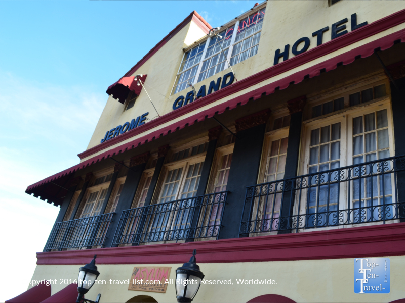 The haunted Jerome Grand Hotel