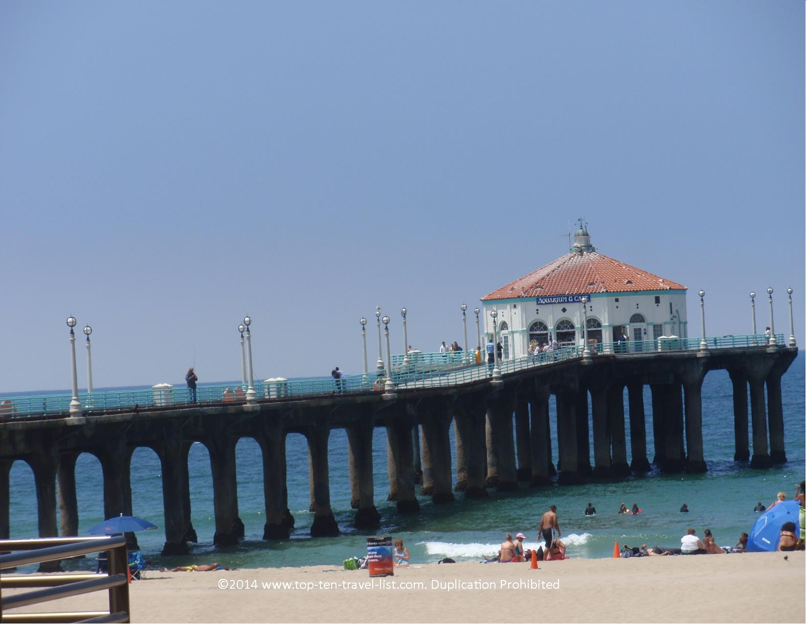 Manhattan Beach Pier in LA