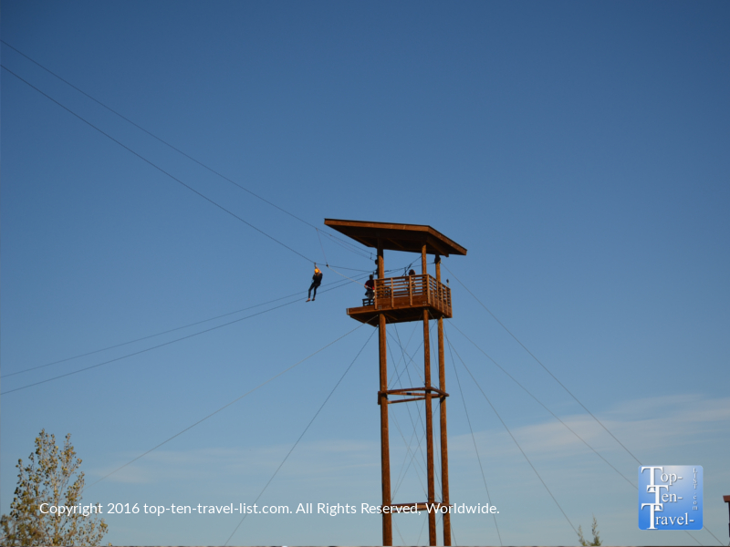 Ziplining at Out of Africa Wildlife Park