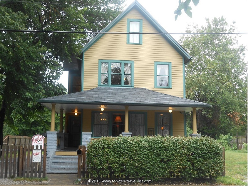 A Christmas Story House in Cleveland OH