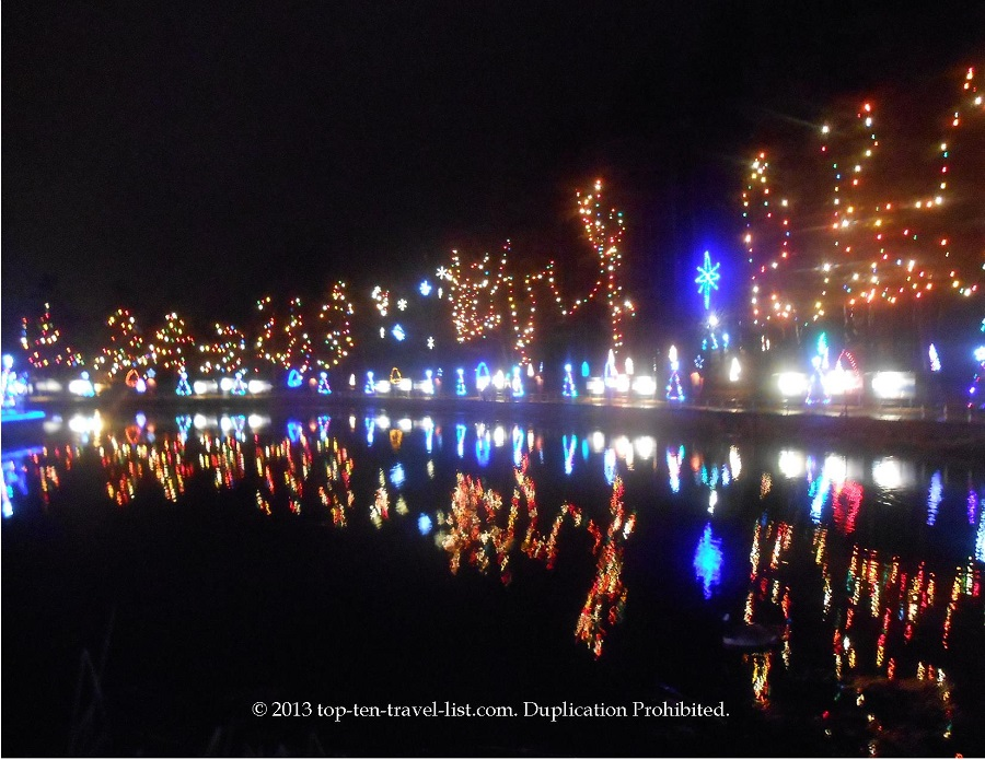 La Salette Shrine Festival of Lights in Attleboro, Massachusetts