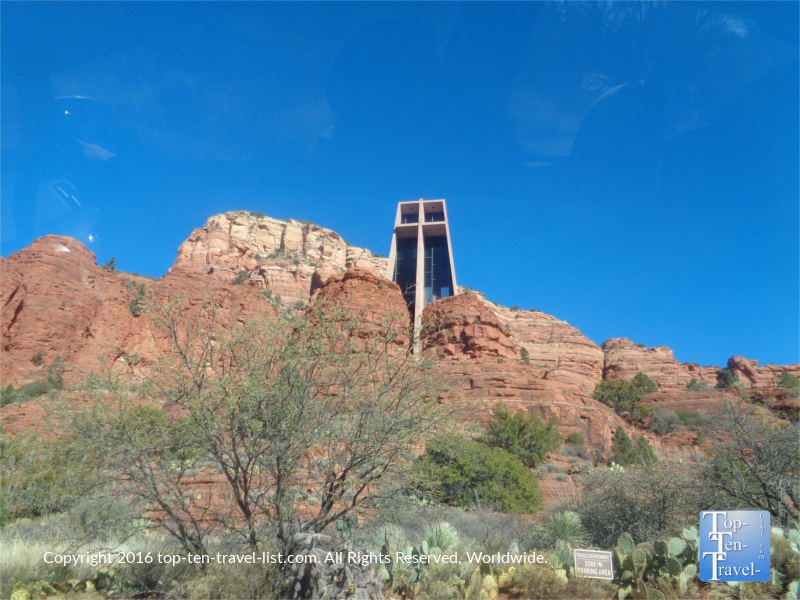 Chapel of the Holy Cross in Sedona AZ