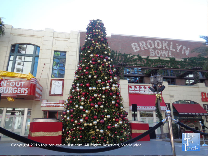 Christmas tree at the Linq in Las Vegas