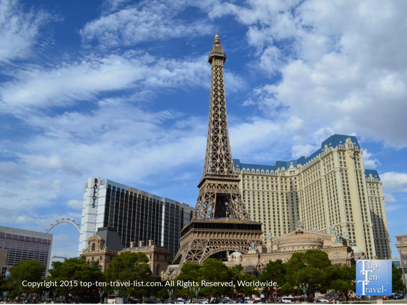 Eiffel tower replica in Las Vegas