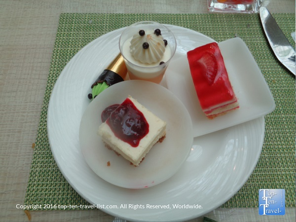 Fantastic desserts at the Wynn Buffet in Las Vegas Nevada