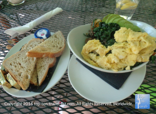 Breakfast at Indian Gardens in Sedona, Arizona