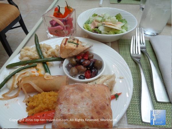 Great food at the Wynn buffet in Las Vegas Nevada
