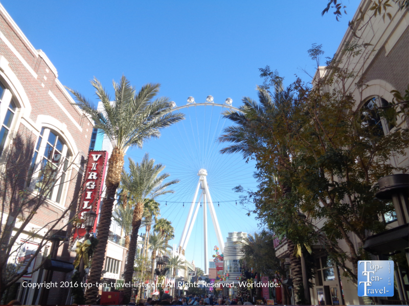 High Roller at the Linq Promenade in Las Vegas