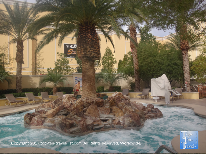 South Point Vegas hot tub