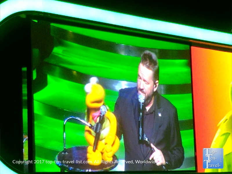 Terry Fator show in Vegas