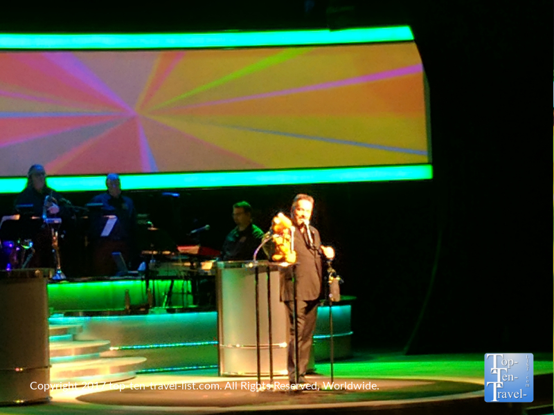 The Terry Fator show at the Mirage in Las Vegas, NV