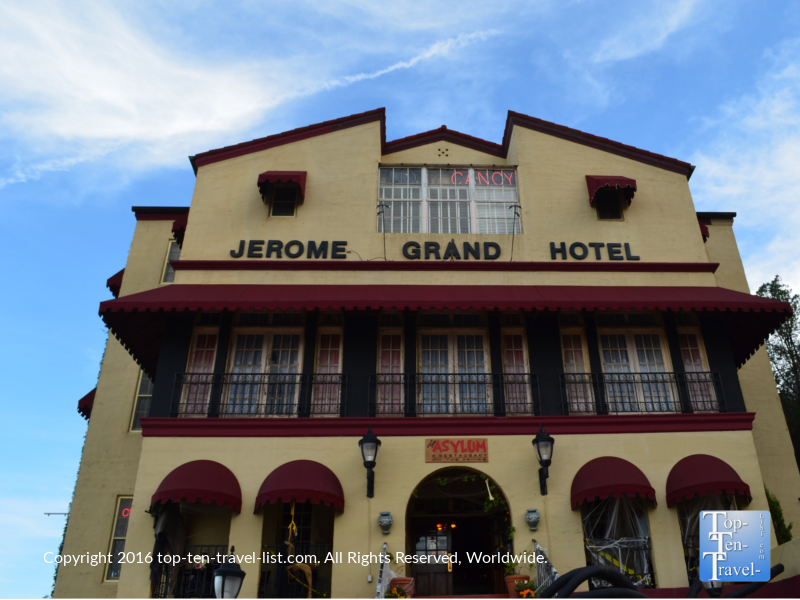 The historic haunted Jerome Grand Hotel