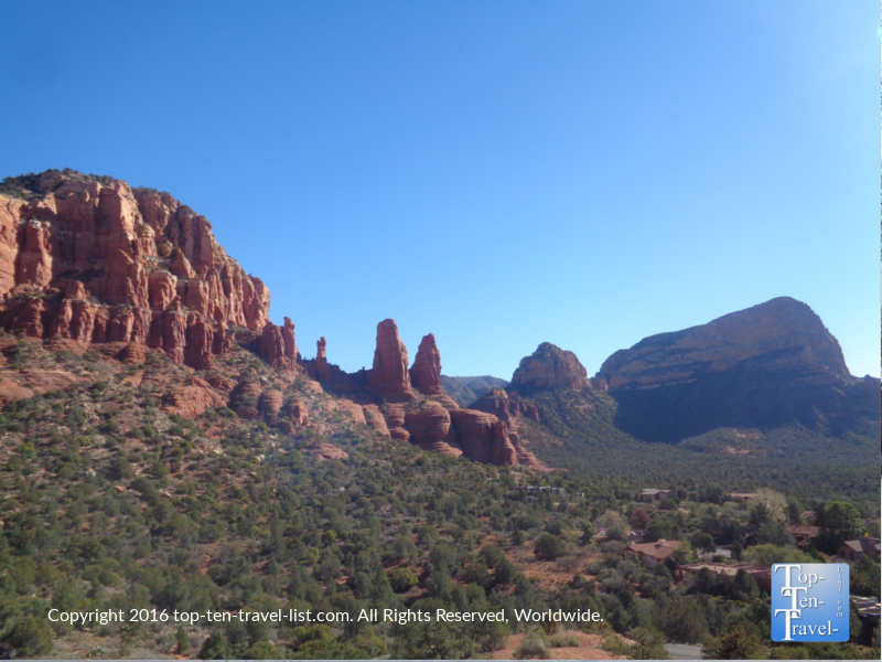 Views from the Chapel of the Holy Cross in Sedona AZ